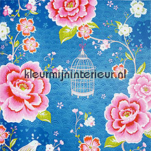 pip vogels, bloemen en kooitjes photomural Eijffinger PiP Wallpaper II 313015