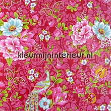 Pip pauw en bloemen papier peint Eijffinger Wallpaper creations