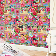 Pip Art Red fotomurali Eijffinger PiP studio wallpaper