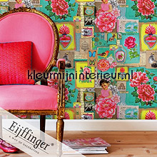 Pip Art Green fotomurali Eijffinger PiP studio wallpaper
