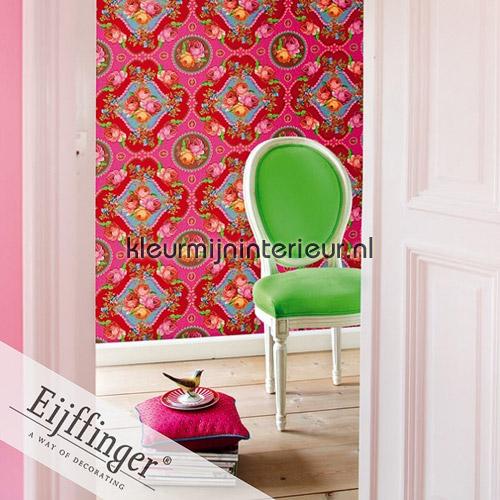 Singing Roses pink fotobehang 313114 PiP studio wallpaper Eijffinger