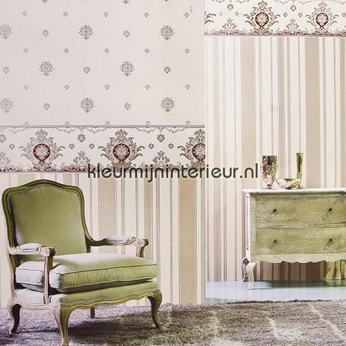 Brede klassieke rand papel pintado 2675z Regent Noordwand