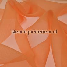 Licht Oranje Voile gordijnen AS Creation uni kleuren