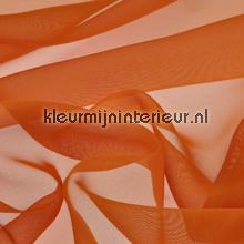 Oranje Voile gordijnen AS Creation uni kleuren