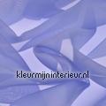 Aqua Blauw Voile colores lisos