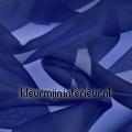 Heel Donker Blauw Voile couleurs unies