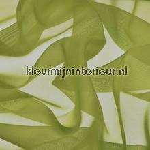 Olijf Groen Voile gordijnen AS Creation uni kleuren