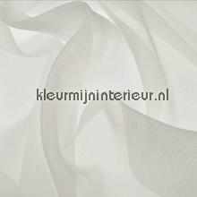 Zilver Offwhite Voile gordijnen AS Creation uni kleuren