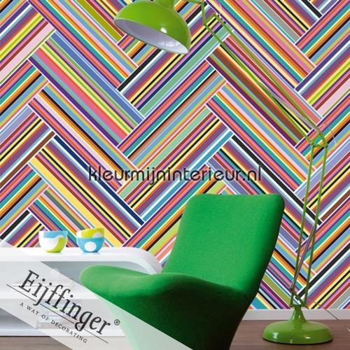 Diagonale strepen photomural 320551 Stripes Only 2011 Eijffinger