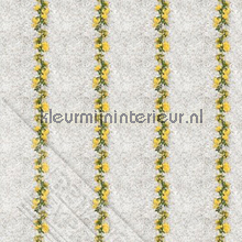 Gele bloemenlint fotobehang Behang Expresse Wallpaper Queen ML205
