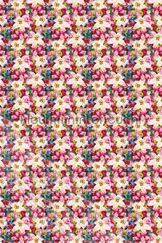 Fleurige bloemenwand fotomurales ML219 Wallpaper Queen Behang Expresse