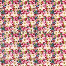 Fleurige bloemenwand fotobehang Behang Expresse Wallpaper Queen ML219