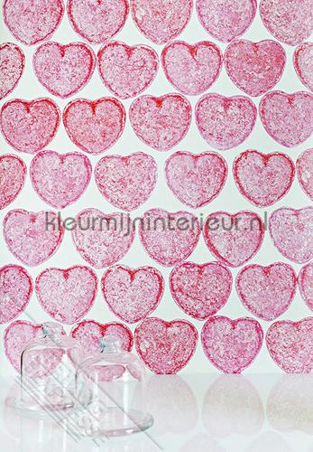 Candyhearts fotomurales ML227 Wallpaper Queen Behang Expresse