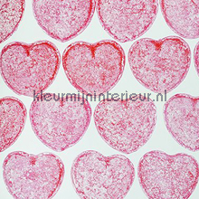 Candyhearts fotobehang Behang Expresse Wallpaper Queen ML227