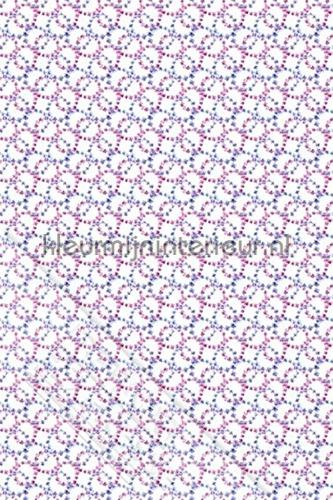 Circular flowers fotomurales ML228 Wallpaper Queen Behang Expresse