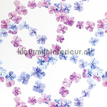 Circular flowers fotobehang Behang Expresse Wallpaper Queen ML228
