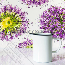 Paarse bloemen fotobehang Behang Expresse Wallpaper Queen ML231