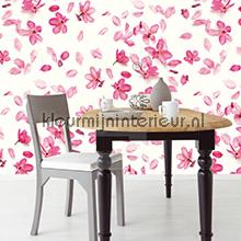 Pink Petals fotobehang Eijffinger Wallpower Rhythm 2013 330004