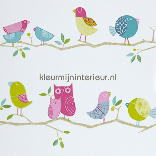 what a hoot behang 70515 Baby - Peuter Harlequin
