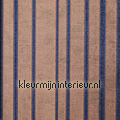 Brons met konings blauw behang Dutch Wallcoverings behang