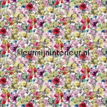 Orangerie rose behang Designers Guild Zephirine P55001