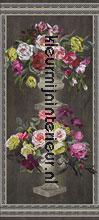 Ornamental garden panel behang Designers Guild Zephirine P55201