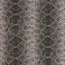 Slangenleer met reliefstructuur behang Rasch behang