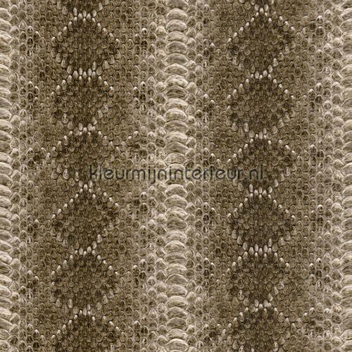 Slangenleer met reliefstructuur behang 473810 aanbieding behang Rasch