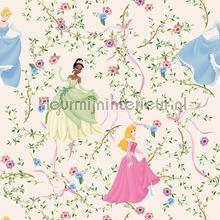 Romantische Disney prinsessen behang Dutch Wallcoverings meisjes