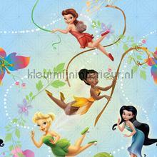 Fairies dansen in de lucht behang Dutch Wallcoverings meisjes
