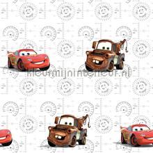 Cars lightning Mc Queen en Mater behang Dutch Wallcoverings jongens