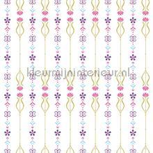 Frozen floral pattern behang Dutch Wallcoverings meisjes