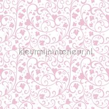 Princess flourishes pattern wallcovering Dutch Wallcoverings girls