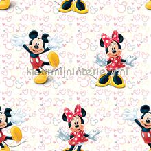 Minnie en Mickey mouse wallcovering Dutch Wallcoverings girls