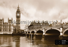 Naar de Big Ben in London fotobehang AG Design AG Design FTS-0480