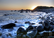 Grote stenen bij zee fotomurales AG Design AG Design FTS-1311