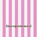 Mimi stripe pink white motieven