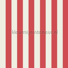 Mimi stripe red white tapet Harlequin All about me 110515
