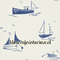 Sail away navy behang Harlequin jongens