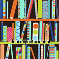 Allmy books bright multi tapet Harlequin All about me 110535