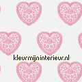 Sweet hearts pink