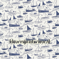 SAIL AWAY navy gordijnstoffen rideau Harlequin All about me 120232