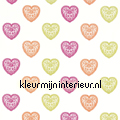 SWEET HEART gordijnstof rideau Harlequin All about me 130756