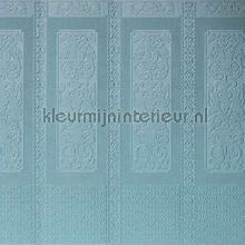 Rococo lambrizering wallcovering Anaglypta Veloute Flock