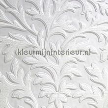 Overschilderbaar behang High Leaf wallcovering Anaglypta Veloute Flock