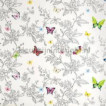 Sparkling butterflies wallpaper XXXL behang AdaWall alle afbeeldingen