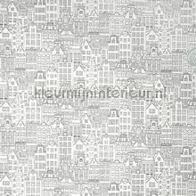 Houses XXXL wallpaper papier peint AdaWall Anka 1618-1