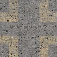 ANT3 kurk grafisch patroon behang Arte Antares ANT303