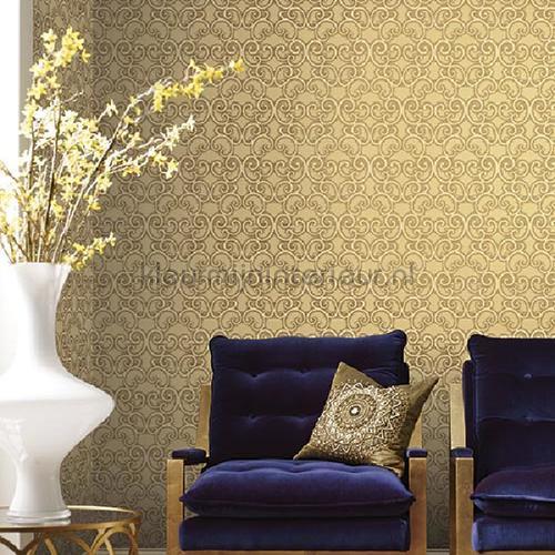 shadow scroll papel pintado bd44304 interiors York Wallcoverings