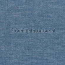 Shinok blue klein papier peint Casamance Apaches 73811436